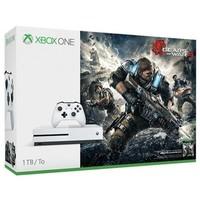 Стационарная игровая приставка Microsoft Xbox One S 1TB White + Gears of War 4