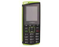 Телефон Sigma mobile Comfort 50 Mini 4 Black/Green