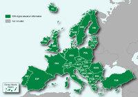 Топографическая карта Европы для Garmin