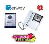 Видеодомофон Genway СM-06DNd2H-M (с блоком памяти в комплекте)