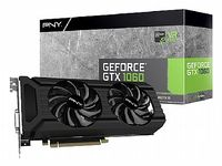 Видеокарта PNY GEFORCE GTX1060 3GB (VCGGTX10603PB)