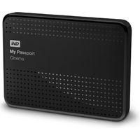 Внешний жесткий диск WD My Passport Cinema 1Tb (WDBDCX0010BBK-NESN)