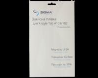 Защитная пленка для экрана планшета Sigma Mobile X-Style TAB A101/A102