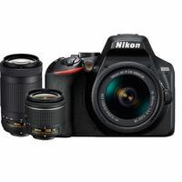 Зеркальный фотоаппарат Nikon D3500 AF-P DX NIKKOR 18-55MM F/3.5-5.6G VR AF-P DX NIKKOR 70-300MM F/4.5-6.3G ED (EN)
