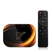 Cмарт (ТВ медиа) приставка для телевизора Vontar X3 4/64 Gb
