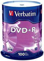 Диск Verbatim DVD-R 4,7GB 16x Spindle Packaging 100шт (43549)