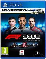 Игра для PS4: F1 2018 Headline Edition