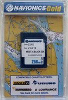 Карта «Днепр, Средиземное и Черное море (код 43XG)» NAVIONICS GOLD для Lowrance, Eagle, Humminbird