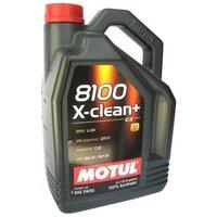 Моторное масло Motul 8100 X-Clean+ 5W-30 5л