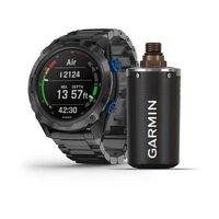 Мультиспортивные часы для дайвинга Garmin Descent Mk2i Bundle, Titanium Carbon Gray DLC with DLC Titanium Band (Includes Descent T1)