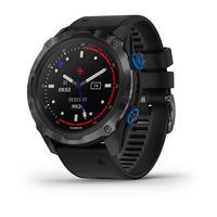 Мультиспортивные часы для дайвинга Garmin Descent Mk2i Titanium Carbon Gray DLC with Black Band