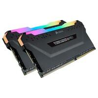 Память Corsair 16 GB (2x8GB) DDR4 3200 MHz Vengeance RGB Pro Black (CMW16GX4M2C3200C16)