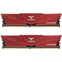 Память TEAM 16 GB (2x8GB) DDR4 3600 MHz T-Force Vulcan Z Red (TLZRD416G3600HC18JDC01)