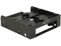 Рамка бокс Delock 5.25″ Installation Frame for 1 x 3.5″ + 2 x 2.5″ hard drives (18000)