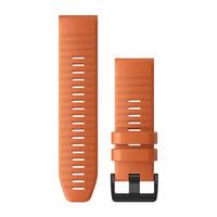Ремешок на запястье для Garmin QuickFit™ 26 Watch Bands Ember Orange Silicone