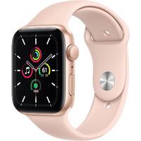 Смарт-часы Apple Watch SE GPS 44mm Gold Aluminum Case w. Pink Sand Sport B. (MYDR2)