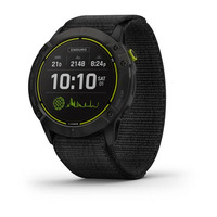 Спортивные часы Garmin Enduro Carbon Gray DLC Titanium with Black UltraFit Nylon Strap