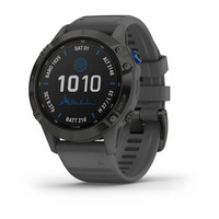 Спортивные часы Garmin Fenix 6 Pro Solar Edition Black with Slate Gray Band