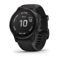 Спортивные часы Garmin Fenix 6S Pro - Black with Black Band