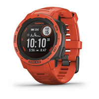 Спортивные часы Garmin Instinct Solar Flame Red