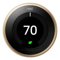 Терморегулятор Google Nest Learning Thermostat 3nd Generation Brass (T3032US)