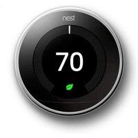 Умный термостат Nest Learning Thermostat 3nd Generation Polished Steel (T3019US)